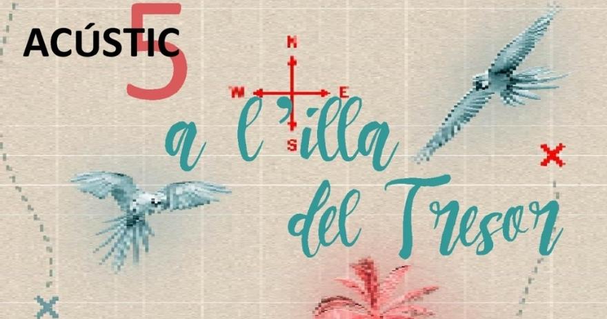 Concierto 'Els Acústic5 a L'illa del Tresor' en Jove Teatre Regina (Barcelona)