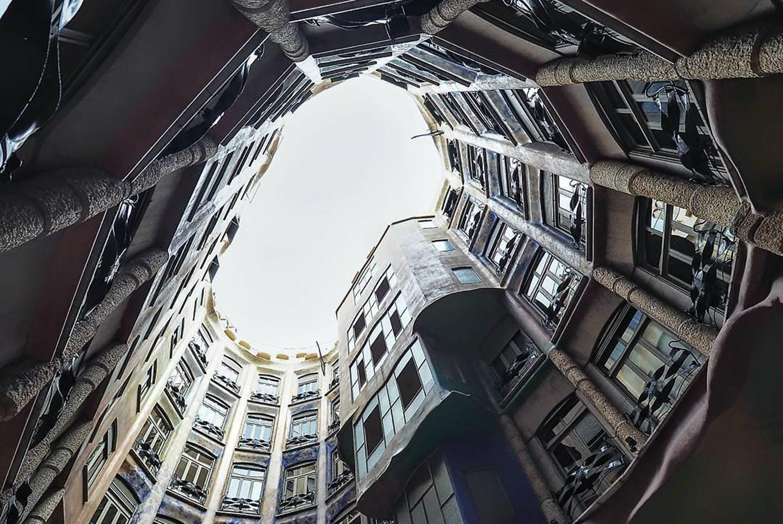 Taller 'Escalera de caracol' en La Pedrera (Barcelona)