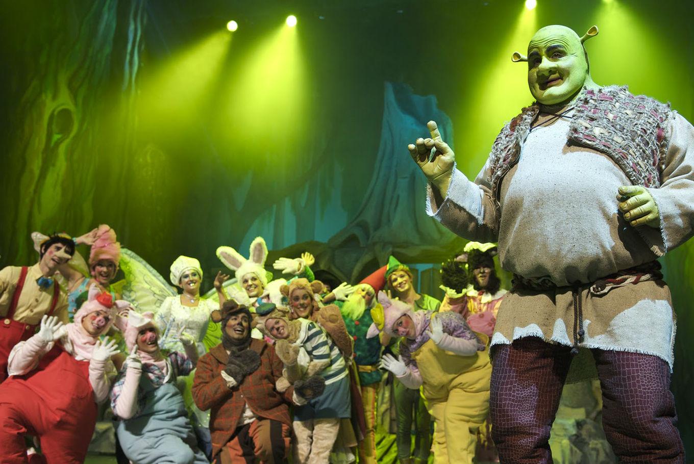 Shrek, el musical en Teatre El Magatzem (Tarragona)