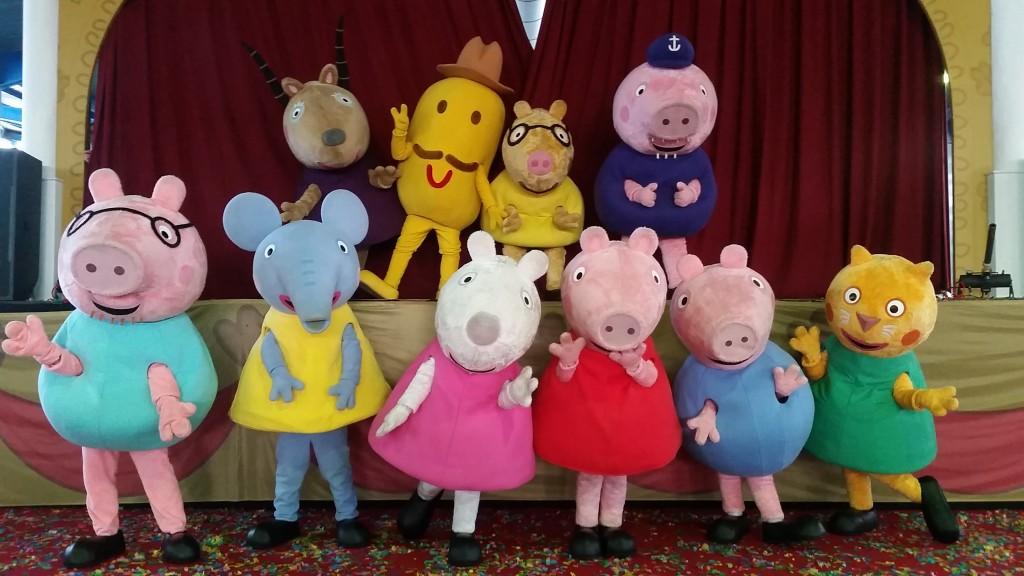 'Un día con Peppa Pig. El Festival' en La Cubierta de Leganés (Leganés)
