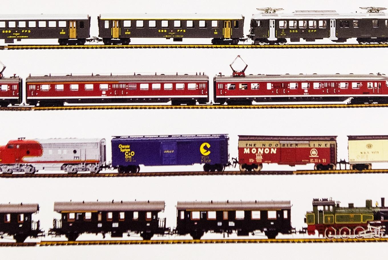 Museo de trenes en miniatura en Centro Cultural Marcos Valcárcel (Ourense)