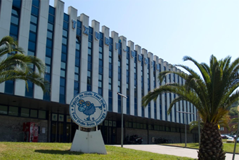 Palacio de hielo Txuri Urdin
