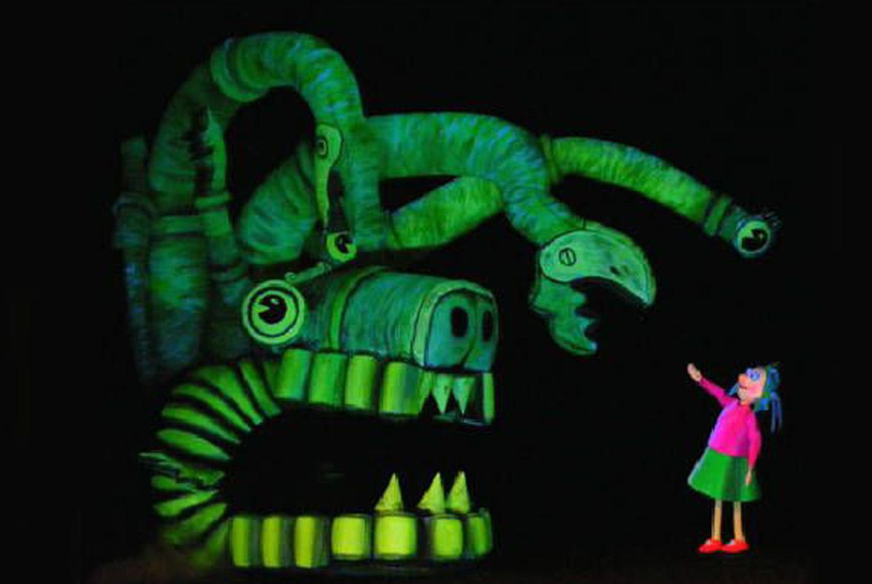 Teatro 'Ondina Glups' en Teatro Echegaray (Málaga)