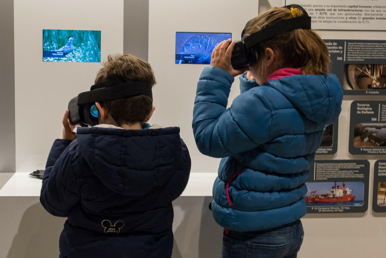 Exposición permanente 'Ventana virtual a Doñana' en Casa de la Ciencia Sevilla (Sevilla)