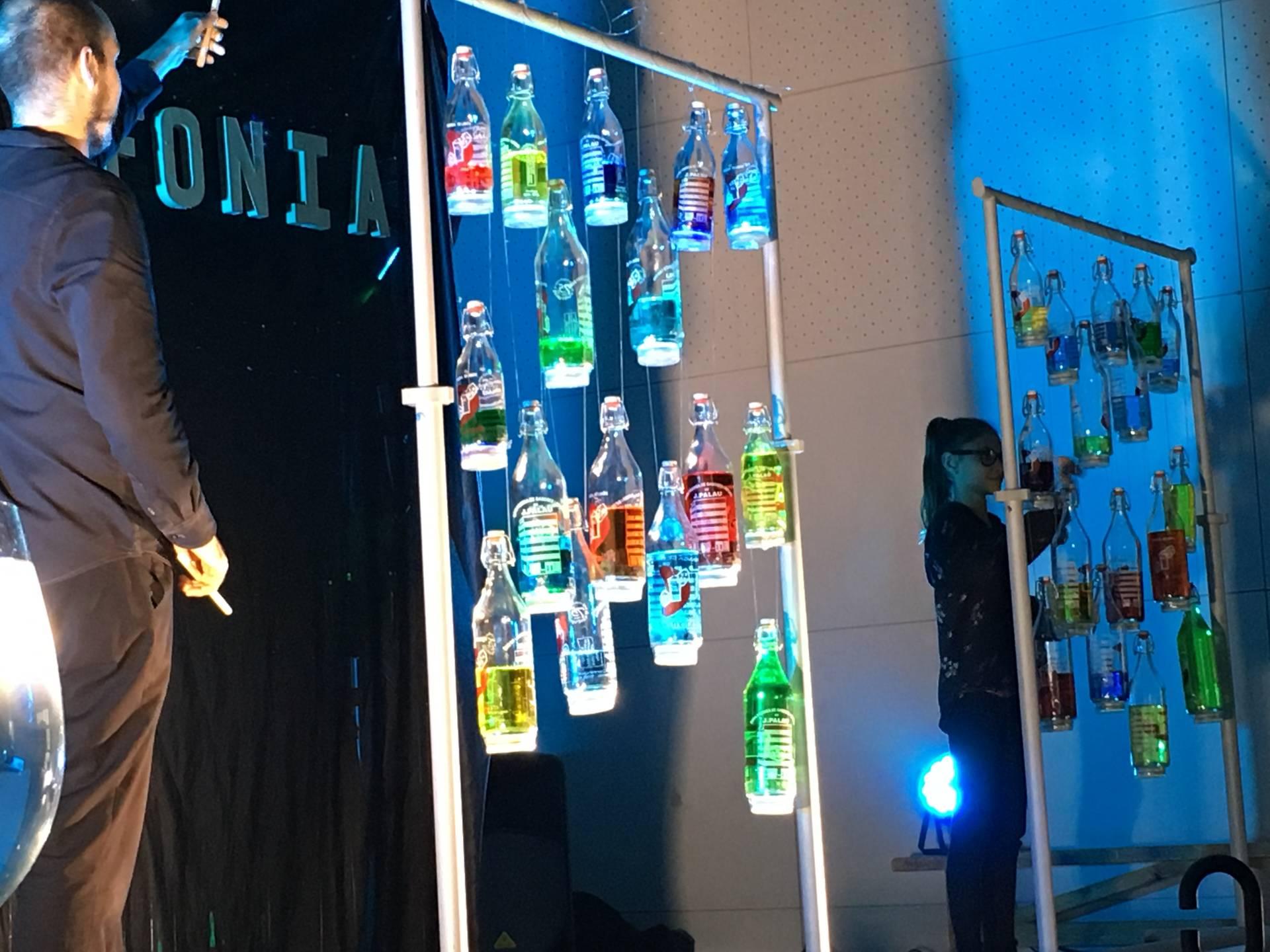 Espectáculo musical 'Aquafonia' en Espai Putxet (Barcelona)