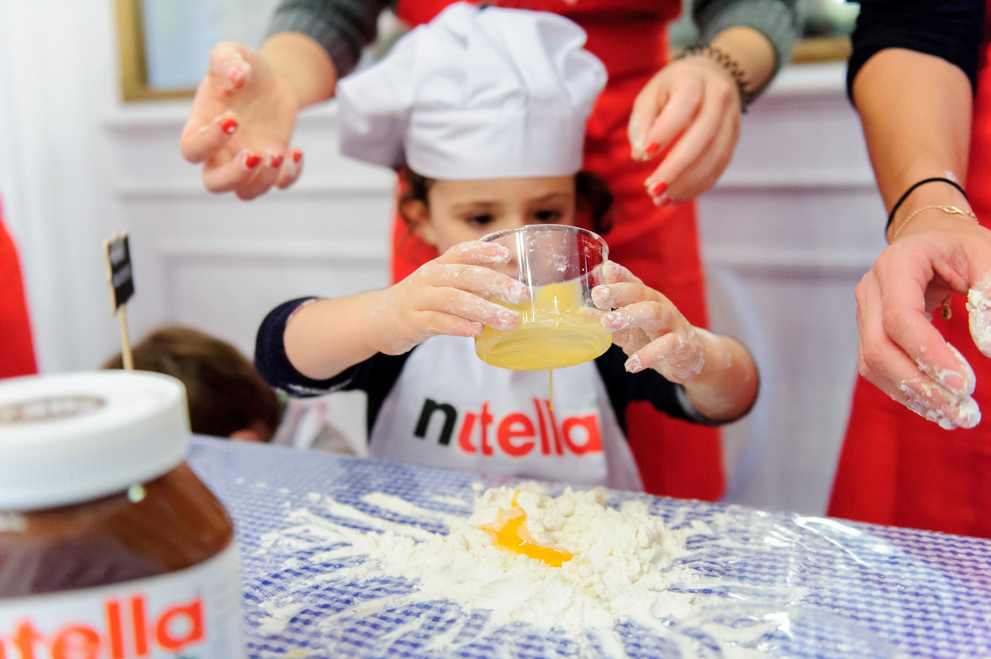 Taller 'Recetas de Nutella con Samantha Vallejo-Nágera' en Consulado Italiano (Madrid)