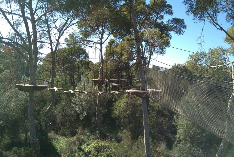 Tirolinas en familia en Forestal Park Mallorca en Forestal Park Mallorca (Palma de Mallorca)