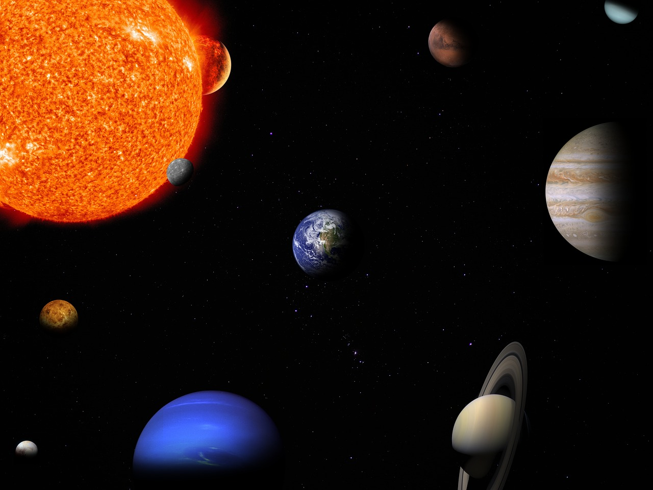 Proyección 'La Familia Solar' en Planetario de Aragón (Huesca)