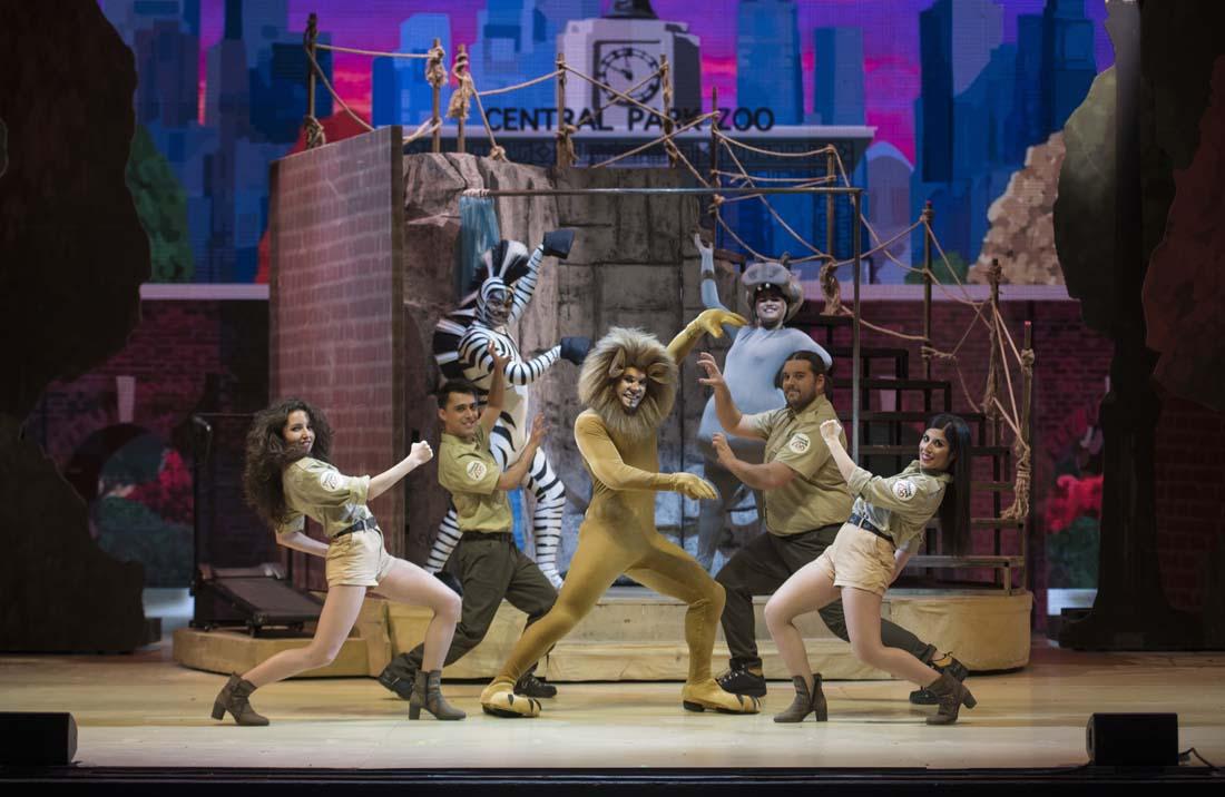 'Madagascar, El Musical en Vivo' en Teatre Victoria (Barcelona)