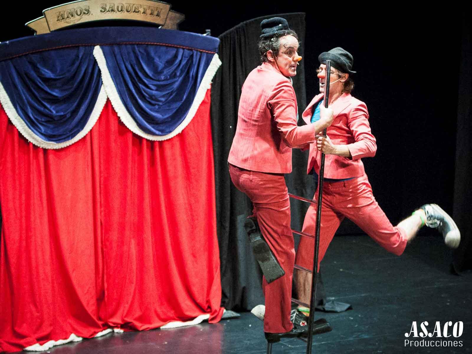 Teatro 'Hermanos Saquetti' en Teatro San Francisco (León)