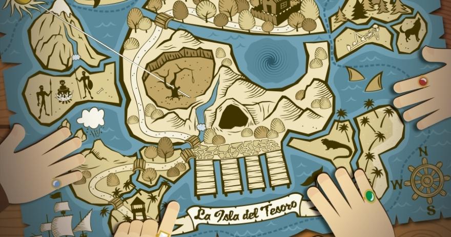 Teatro 'La isla del tesoro' en Estudio 2, Manuel Galiana (Madrid)