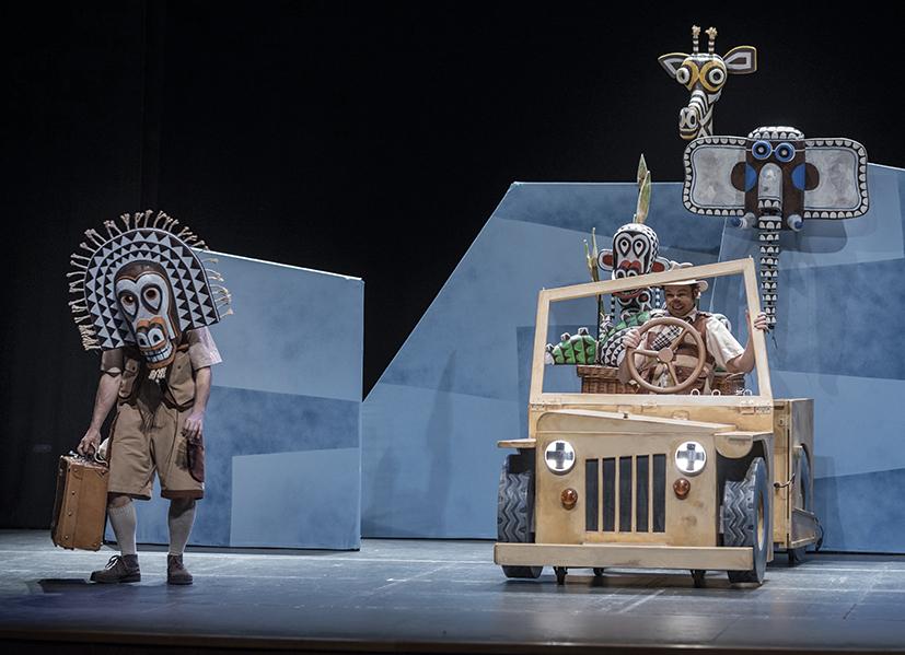 Teatro 'Safari' en Laboratorio De Las Artes De Valladolid (LAVA) (Valladolid)