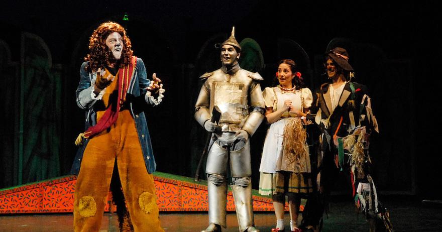 Teatro 'El Mago de Oz' en Teatro Sanpol (Madrid)