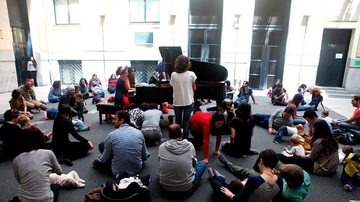 Concierto 'Pía pía, piano' en La Casa Encendida (Madrid)