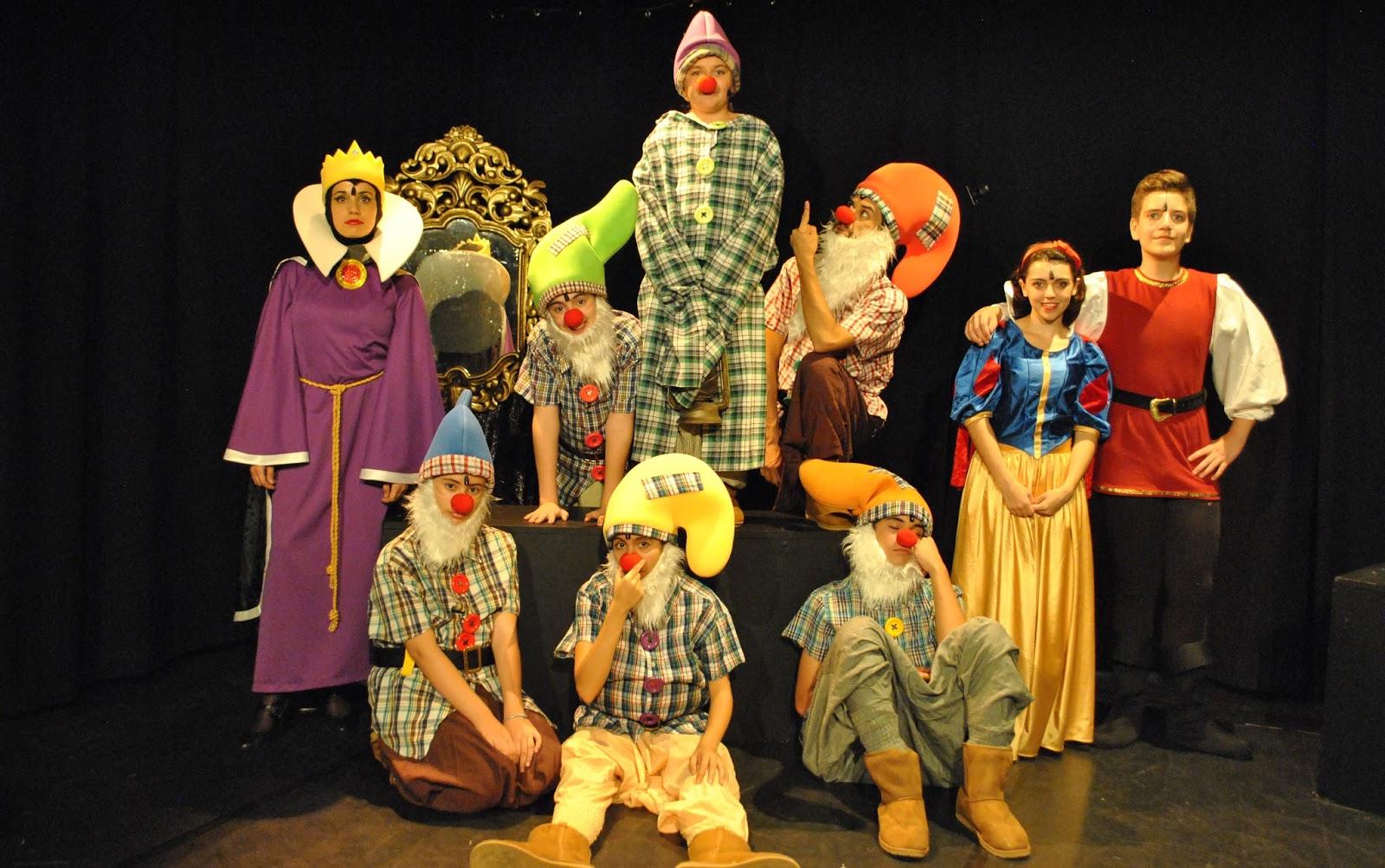 Teatro 'Blancanieves y los siete enanitos, El musical' en Teatro Tarambana (Madrid)