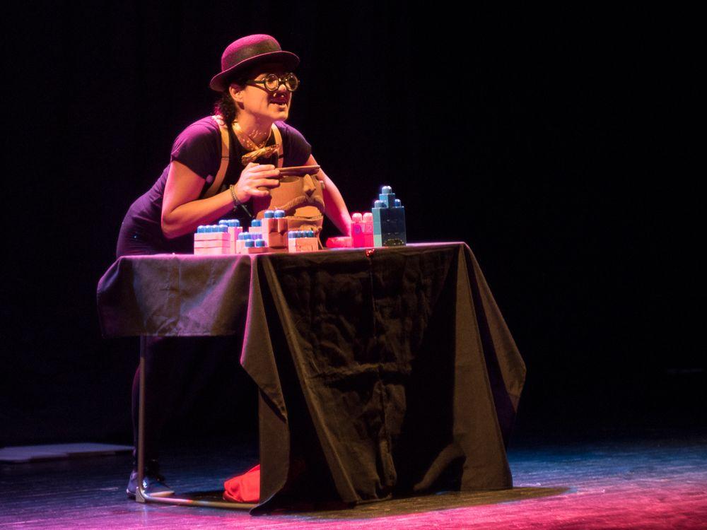 Teatro Infantil 'Me sobra la mochila' en Teatro del barrio (Madrid)