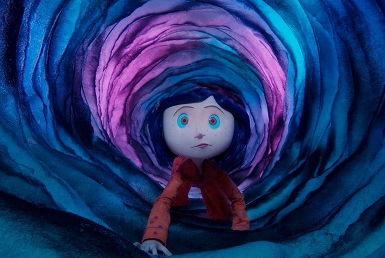 Proyección de 'Los mundos de Coraline' en CaixaForum Zaragoza (Zaragoza)