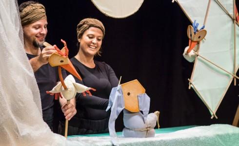 Espectáculo 'El pequeño elefante' en SAT! Sant Andreu Teatre (Barcelona)