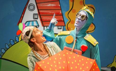 Espectáculo 'Berta y su robot' en SAT! Sant Andreu Teatre (Barcelona)