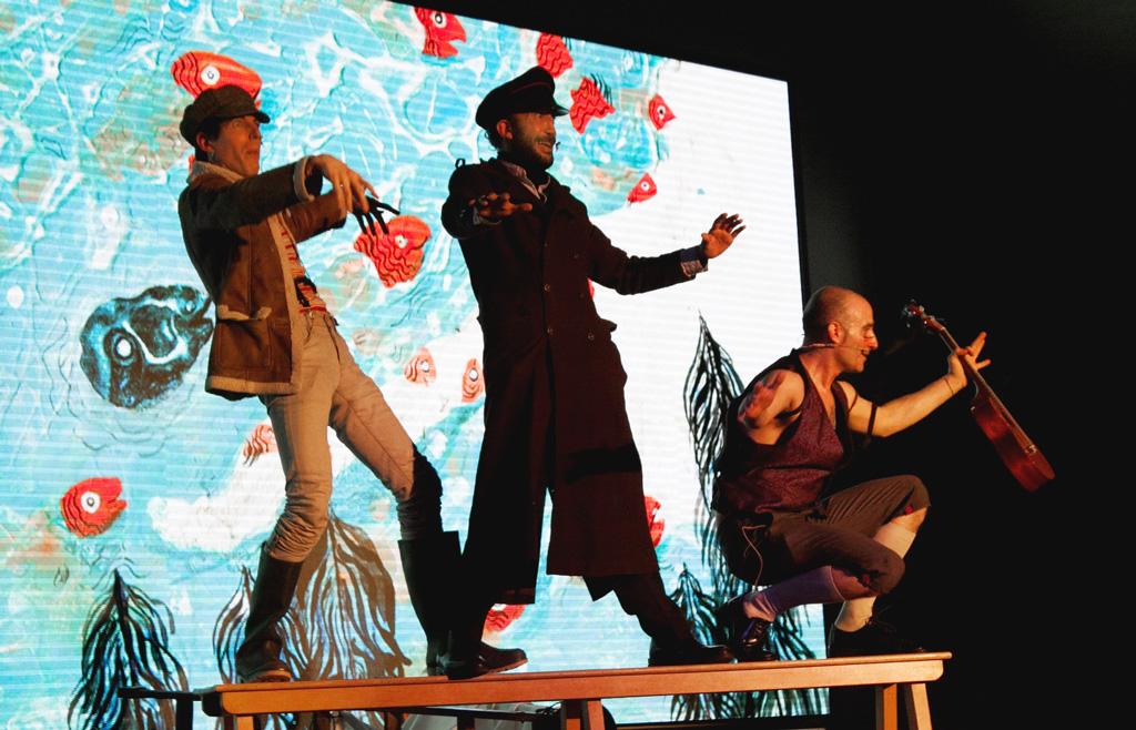 Teatro 'Moby Dick' en Teatros Luchana (Madrid)