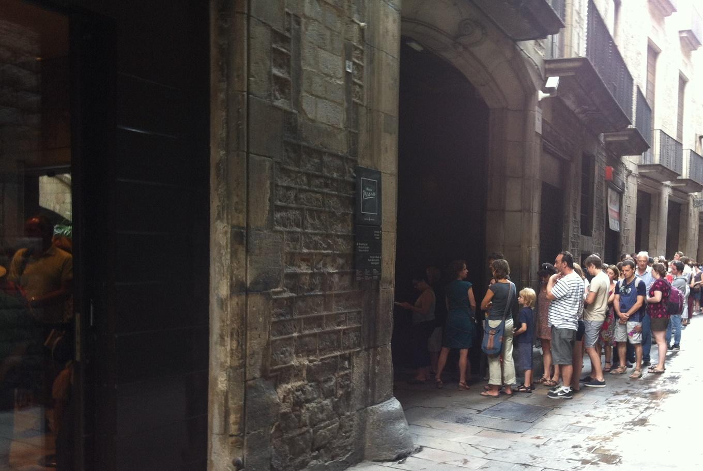 Jornada de puertas abiertas en el Museu Picasso en Museu Picasso de Barcelona (Barcelona)