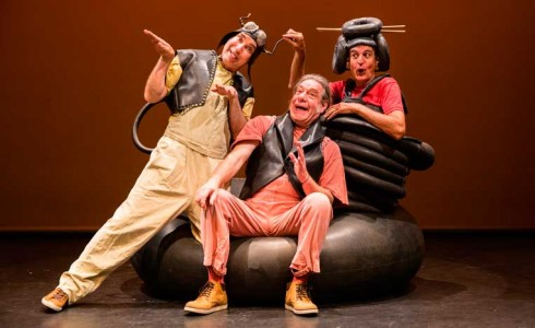 Espectáculo 'Redondo' en SAT! Sant Andreu Teatre (Barcelona)