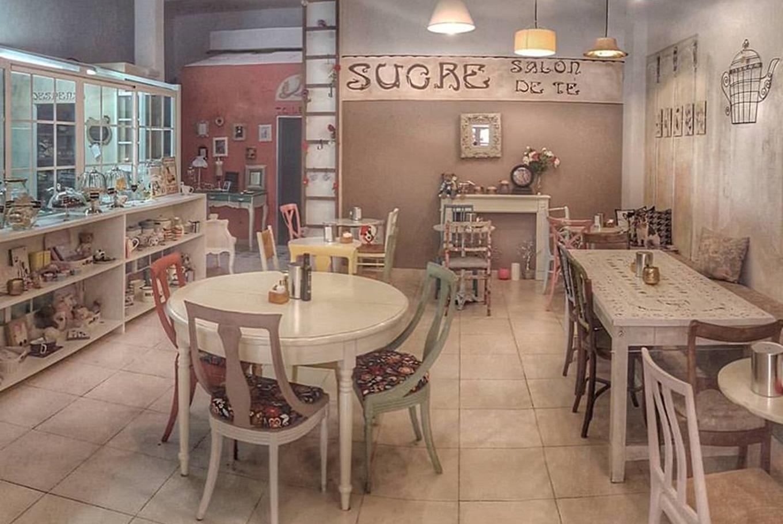 Sucre, salón de té