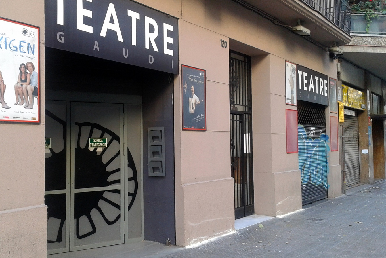 Teatro Gaudí de Barcelona