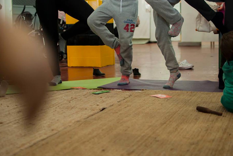 Yoga en Familia en Llibrería Baobab Mallorca (Palma de Mallorca)