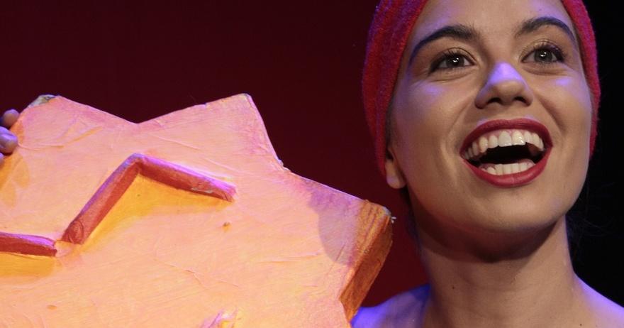 Espectáculo para bebés 'Te amo, teatro' en La Escalera de Jacob Lavapiés (Madrid)