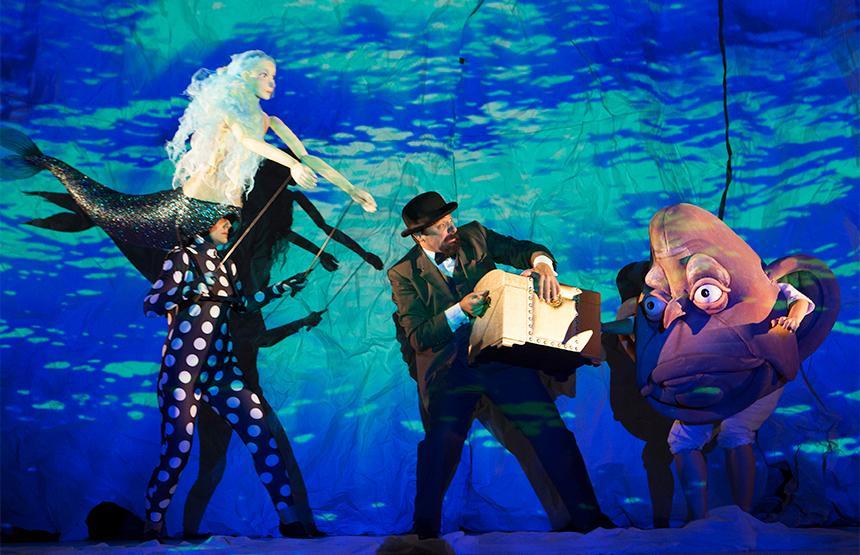 Teatro 'Monsieur Croche' en CaixaForum Madrid (Madrid)