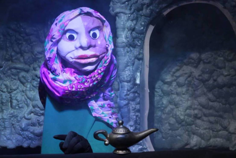 'Aladino y la lámpara de led' y 'El Ogro zampabollos' en Sala de Teatro El Dragón Estragón (Madrid)