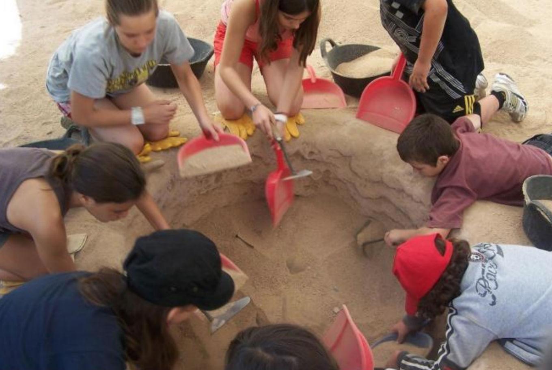 Taller infantil 'Arqueólogos por un día' en Museo Egipcio (Barcelona)