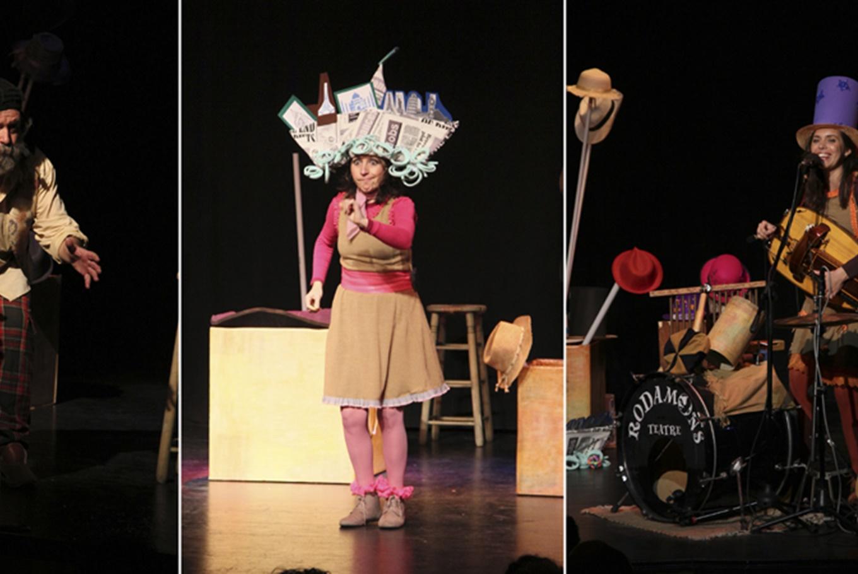 Espectáculo familiar 'Barrets' en Teatro L'Horta (Valencia)