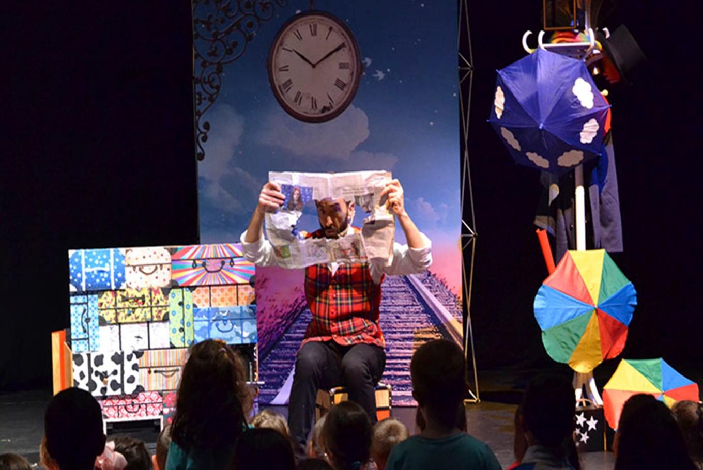 Teatro-magia 'Blim Blam...!' en Teatro Tarambana (Madrid)