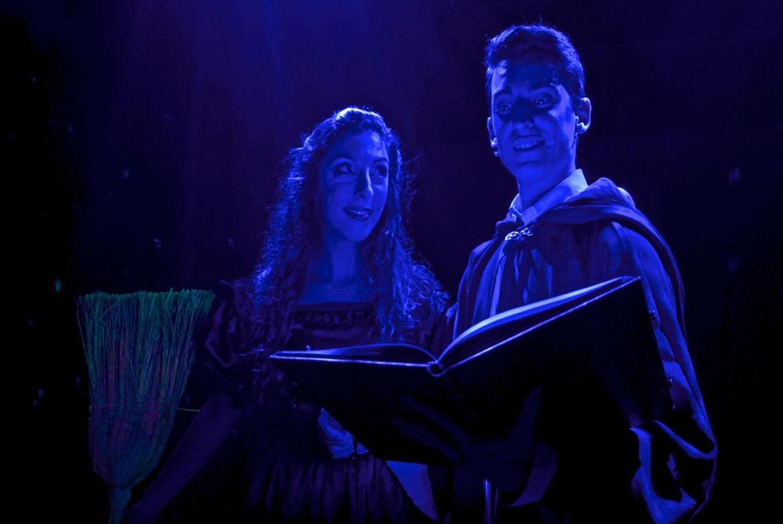 Musical familiar 'El aprendiz de brujo' en Teatro Olympia (Valencia)