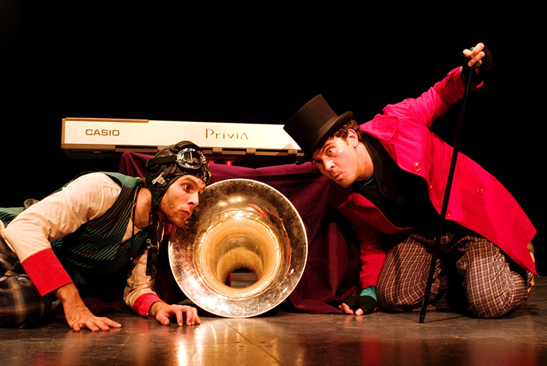 Espectáculo infantil 'Bululú y Atolondrado en...¡Abajo el telón' en Teatro Off La Latina (Madrid)