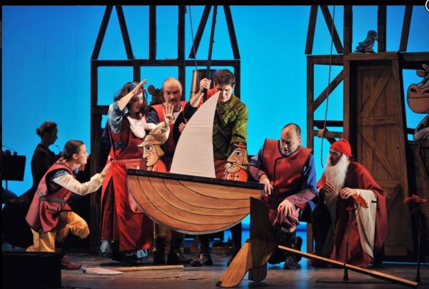 Teatro 'Guillem Tell' en Gran Teatre del Liceu (Barcelona)