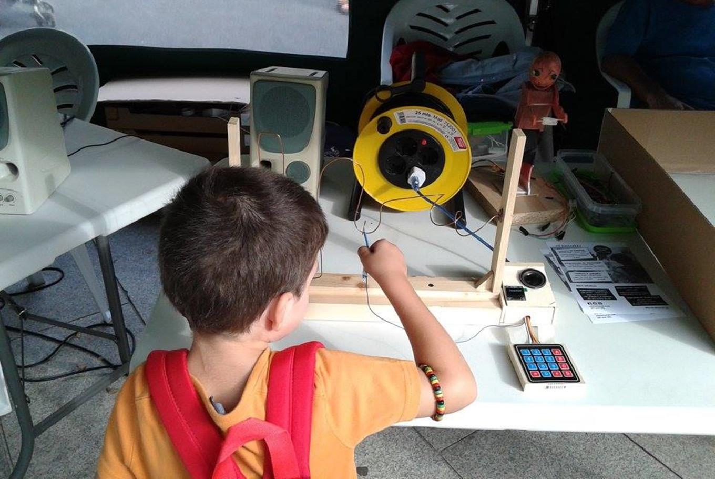 Campamento 'Ciencia para peques' en M8Factorial! (A Coruña)