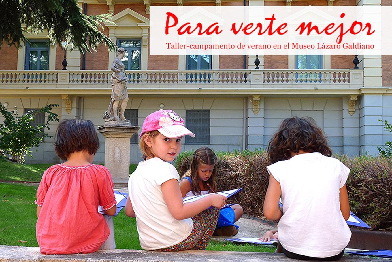 Campamento de verano 'Para verte mejor' en Fundación Lázaro Galdiano (Madrid)