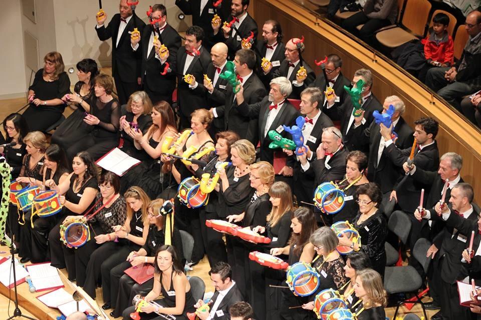 Concierto 'Música y Juguetes' en Auditorio Nacional de Música (Madrid)