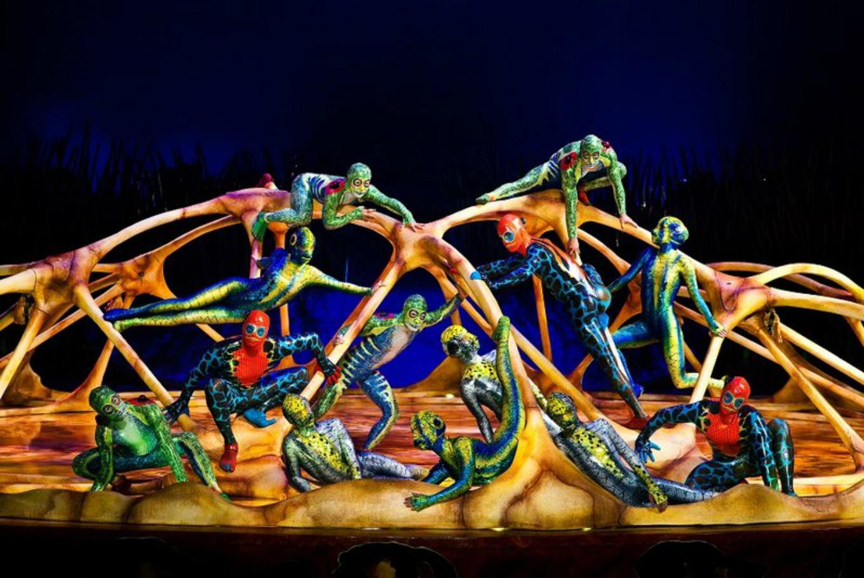 Cirque du soleil presenta 'Totem' en Estadio Olímpico Municipal de la Feixa Llarga (L'Hospitalet de Llobregat)
