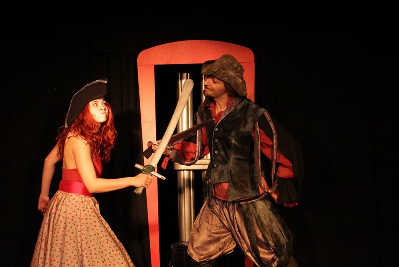 Teatro 'Clareta y el pirata' en Espai de Creació Artística (Barcelona)