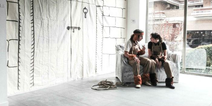 Teatro 'El Coloquio de los Perros' en El corral de Lope (Madrid)