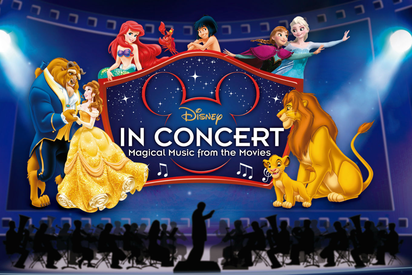 Concierto de Disney 'Magical Music from the Movies' en Auditorio del Forum (Barcelona)