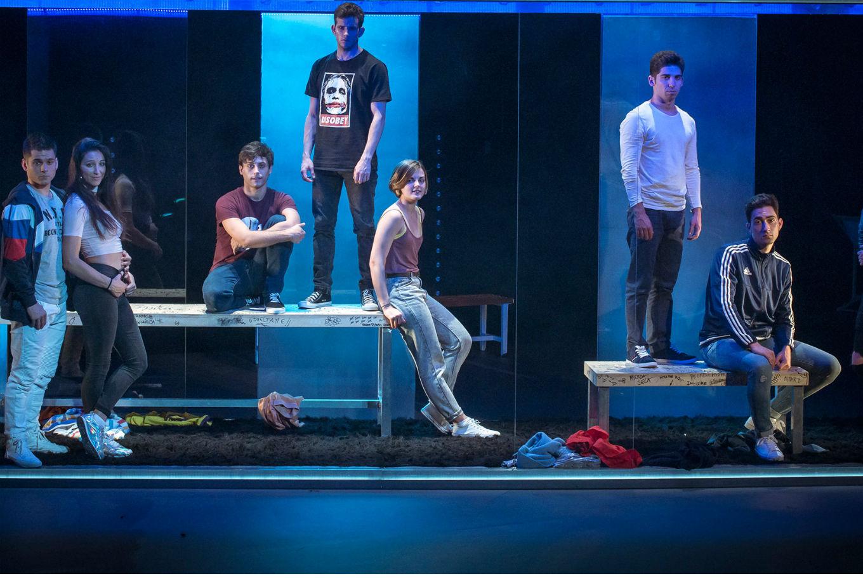 Teatro adolescente 'La edad de la ira' en Palacio de Festivales de Cantabria (Santander)