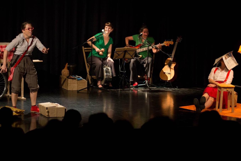 Espectáculo infantil 'Deambulantes' en La Casa Encendida (Madrid)