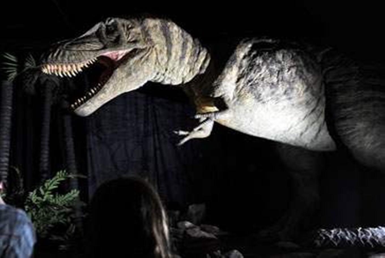 Exposición de dinosaurios 'Dino Expo XXL' en Palau de Fires de Girona (Girona)