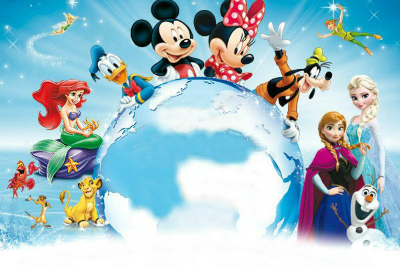 'Disney on Ice: Un mundo mágico' en Wizink Center (Palacio de los Deportes) (Madrid)