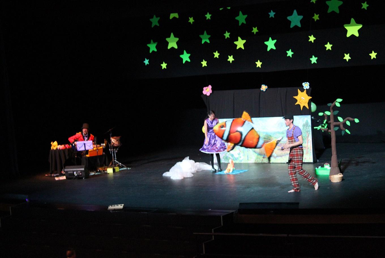 Teatro-circo 'BB Circus' en Auditorio Municipal Gustavo Freire (Lugo)